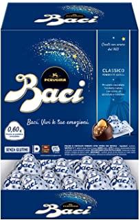 Baci Perugina Classico Cioccolatini Fondenti Ripieni Al Gianduia e Nocciola Intera Scatola 192 Cioccolatini - 2,4Kg