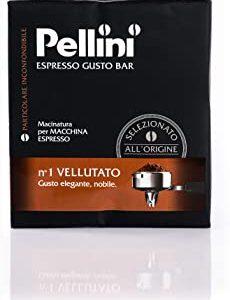 Pellini Caffe Espresso Gusto Bar Na  1 Vellutato, Confezione da 2 x 250 g, 500 g