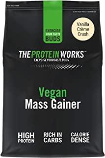 The Protein Works POWVMASSVAN2KG Mass Gainer Vegano THE PROTEIN WORKS | Frullato di Proteine in Polvere Ipercalorico, Iperprotei