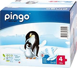 Pingo - Pannolini taglia 4-7-18 Kg, confezione da 200 [Francia]