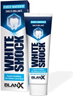 BlanX, Dentifricio Sbiancante White Shock, Il Primo Dentifricio Che Sbianca Con la Luce - 75 ml