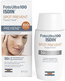 FotoUlta100 ISDIN Spot Prevent SPF50+ Fusion Fluid Protezione molto Alta | Previene le macchie | 50ml
