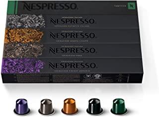 50 Original Nespresso Coffee Capsules (Mixed)
