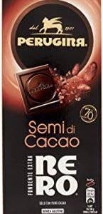 Perugina Tavoletta di Cioccolato Fondente con Semi di Cacao, 85g