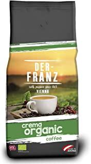 Der Franz, caffe Crema UTZ, macinato, biologico, 1000 g