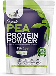 Proteine di Pisello Organica in Polvere - Certificato Vegane - Proteine Isolate Vegetali - Senza Soia & Glutine - Astuccio da 1k