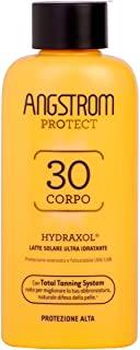 Angstrom Protect Latte Solare Ultra Idratante, Acceleratore Solare 30+ con Azione Nutriente e Prolungata, Indicata per Pelli Sen