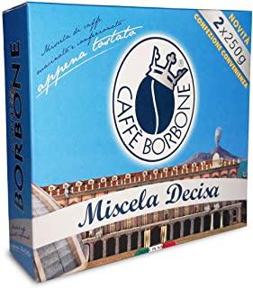 Caffe Borbone macinato confezione convenienza bipack 2x250g Miscela Decisa