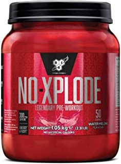BSN N.O.Xplode Formula Pre-Workout per il Consumo Prima Dell'Allenamento, 1.05 kg, Gusto Anguria, 50 Porzioni
