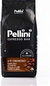 Pellini Espresso Bar, Caffe in Grani, Numero 9 Cremoso, 1 kg