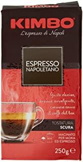 Kimbo - Caffe' Espresso Napoletano - 20 pezzi da 250 g [5 kg]
