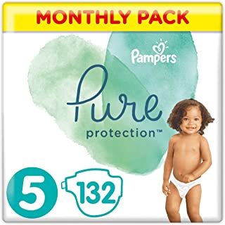 Pampers Pure Protection misura 5, 11 kg+, 132 pezzi