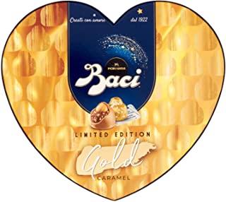 Baci Perugina Gold Limited Edition Cioccolatini Ripieni Al Gianduia E Nocciola Scatola Cuore 100G - kilograms