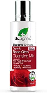 Dr.Organic Rose Otto Latte detergente organico per viso, 150 ml