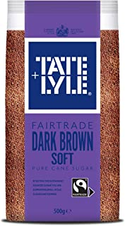 Tate & Lyle - Fairtrade Cane Sugar - Dark Brown - 500g