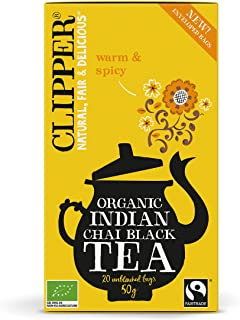 Clipper Organic Indian Chai Black Tea 20 Bags