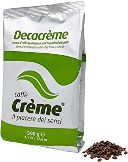 Caffe Creme Decacreme, Caffe decaffeinato in grani, 500 gr
