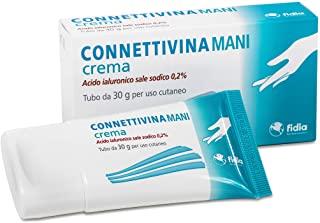 Connettivinamani crema Fidia farmaceutici | Tubo da 30 g | A base di Acido ialuronico sale sodico 0,2%