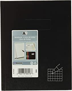 "Blueline - Business Notebooks, 4x4 Quad, 96 Shts, 9-1-4""x7-1-4"", Black, Sold as 1 Each, REDA9Q"