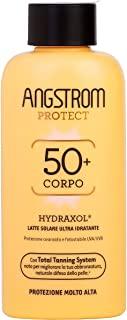 Angstrom Protect Latte Solare Ultra Idratante, Protezione Solare 50+ con Azione Nutriente e Prolungata, Indicata per Pelli Sensi
