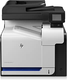 Hp Color Laserjet Pro 500 Mfp M570Dn, Stampante Multifunzione Stampa, Copia, Scansione, Fax, Bianca, Medium