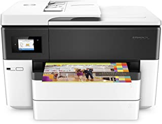 HP OfficeJet Pro 7740 G5J38A, Stampante Multifunzione per Grandi Formati A3, Stampa, Scansiona, Fotocopiatrice, Fax, ADF, Wi-Fi,
