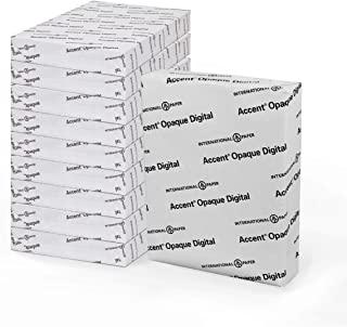 Accent Opaco, bianco liscio, 9,1 kg - 22,7 kg, Lettera, 8,5 x 11, 97 Bright, 500 fogli - 1 risma, Made in the USA