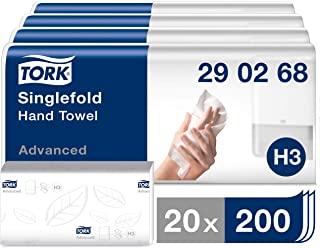 Tork Zigzag Asciugamano 290268 Numero 2 Strati: 4000