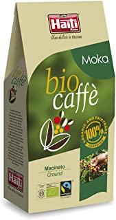 Caffe Haiti Roma Biocaffe Moka 100% Biologico 100% Equosolidale macinato 250 g