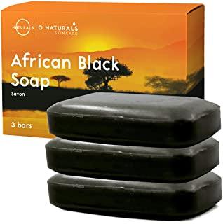 Sapone Nero Africano 100% Naturale Vegan, Con Oli Essenziali Terapeutici Cura Pelle, Brufoli Acne Psoriasi Eczema, Idratante, Di