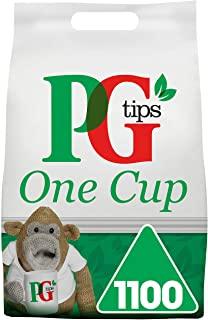 Bustine di te PG Tips One Cup Pyramid, confezione da 1 (Totale 1100 bustine di te)