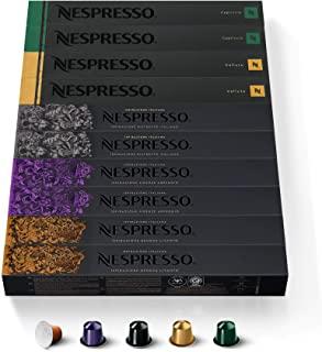 NESPRESSO CAPSULE ORIGINALI - Selezione Balanced,100 capsule di caffe Linea Original, Riciclabili