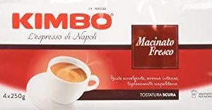 Kimbo Macinato Fresco Caffe Macinato - 4 Pacchi da 250g