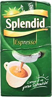 Splendid - Caffe Macinato Gusto Espresso - Miscela per Macchina Caffe Espresso - 12 Confezioni - Pacco da 500 gr